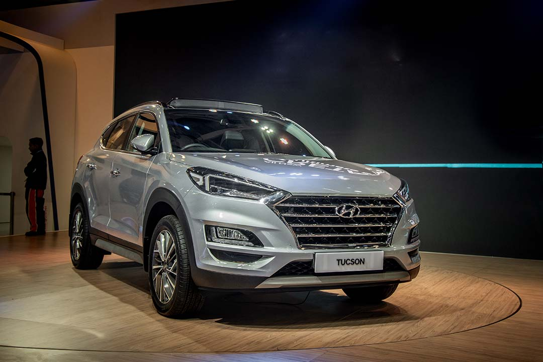 The Tucson facelift gets BS6 compliant BS6 petrol and diesel engines
